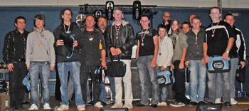 L'équipe Minimes 2008-2009 récompensée