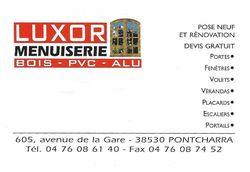 Luxor Menuiserie