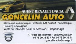 Garage Goncelin Auto
