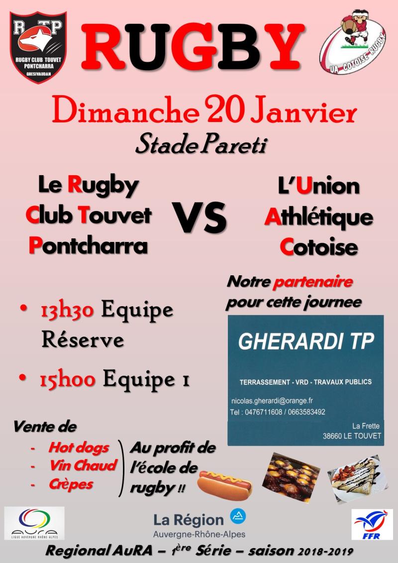 Affiche RCTP - UAC