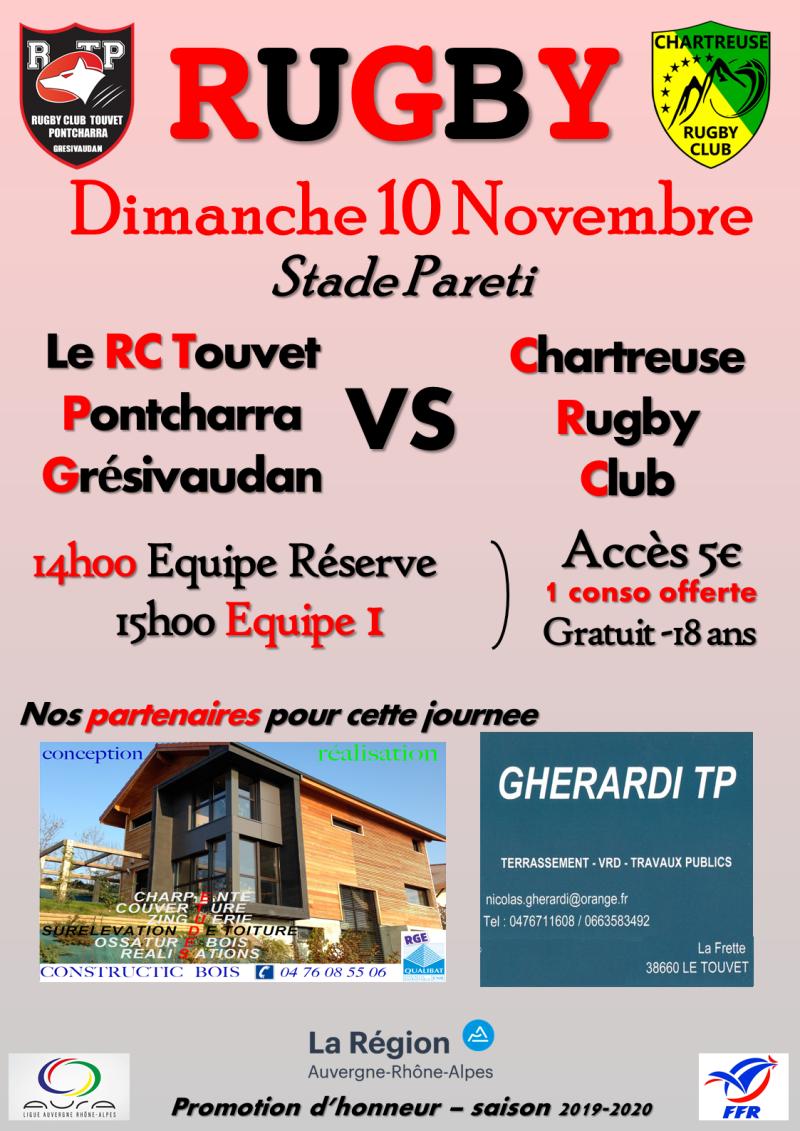 Affiche RCTPG - Chartreuse RC