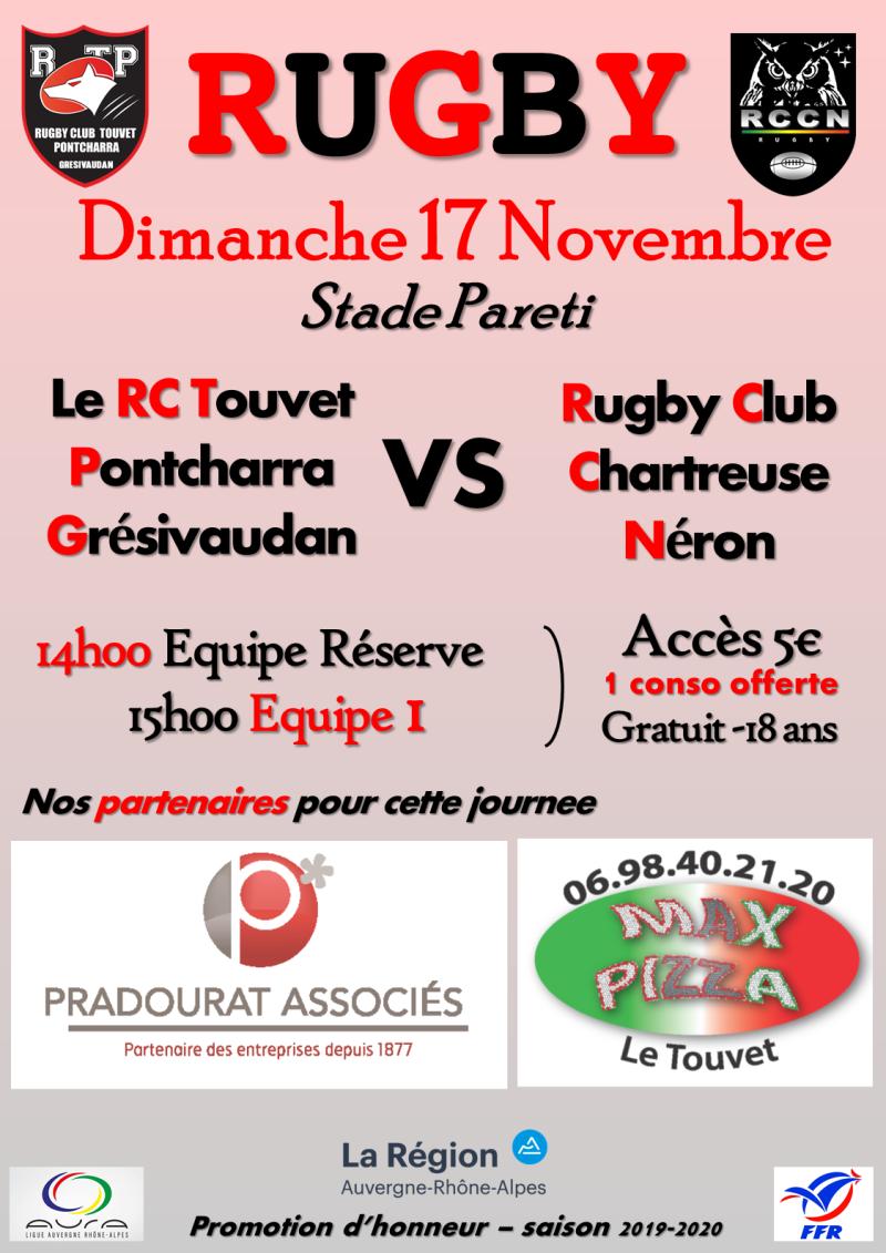 Affiche RCTPG - RC Chartreuse Néron